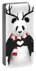 Xmas Panda  Portable Battery Charger