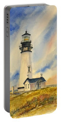 Yaquina Head - Late Afternoon Sunlight Portable Battery Charger