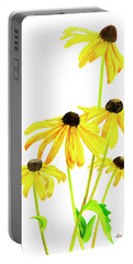 Yellow Black Eyed Susans Portable Battery Charger