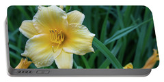 Yellow Day Lily Portable Battery Charger