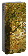 Yellow Fall Leaves - Blue Ridge Parkway Portable Battery Charger