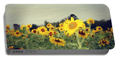 Yellow Fields Portable Battery Charger