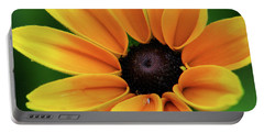 Yellow Flower Black Eyed Susan Portable Battery Charger