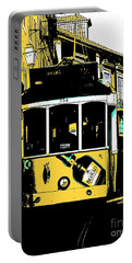 Yellow Lisboa Tram Portable Battery Charger