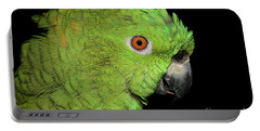 Portable Battery Charger featuring the photograph Yellow-naped Amazon by Debbie Stahre