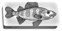 Yellow Perch Portable Battery Charger