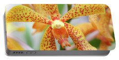 Yellow Spotted Spider Orchids Portable Battery Charger
