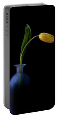 Yellow Tulip Portable Battery Charger