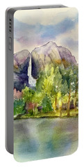 Yosemite Waterfalls Portable Battery Charger