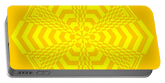 Young At Heart Yellow Portable Battery Charger