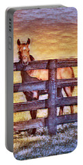 Young Kentucky Thoroughbred Portable Battery Charger