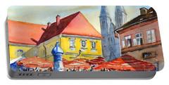 Zagreb Near Dolce Market Portable Battery Charger