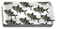 Zebra Fish 2 Of 4 Portable Battery Charger