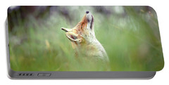 Zen Fox Series - Nose Up In The Air Portable Battery Charger