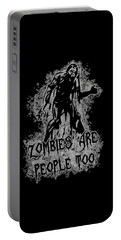 Zombies Are People Too Halloween Vintage Portable Battery Charger