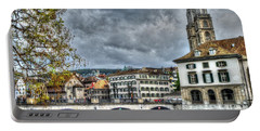 Zurich Switzerland Portable Battery Charger