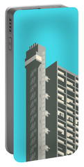 Brutalist Architecture Portable Battery Chargers