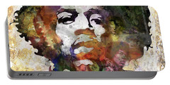 Rock And Roll Jimi Hendrix Music Portable Battery Chargers