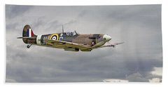 317 Sqdn Spitfire Beach Towel