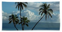 Beach Towel featuring the photograph  A Little Bit Of Paradise by Vivian Christopher