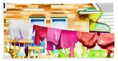 A Summer's Day - Digital Art Beach Towel