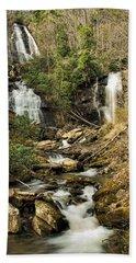 Amacola Falls Beach Towel