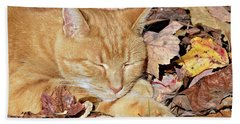 Autumn Dreaming Beach Towel
