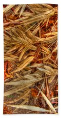 Bamboo Leaves Beach Towel by Michelle Meenawong