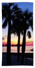 Beach Towel featuring the photograph  Beach Sunset by Aimee L Maher Photography and Art Visit ALMGallerydotcom