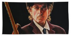 Bob Dylan 2 Beach Towel