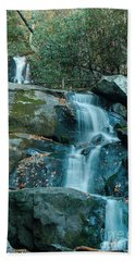 Beach Sheet featuring the photograph  Bottom Of Laurel Falls by Patrick Shupert