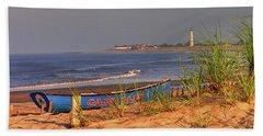 Cape May Beach Beach Towel by Nick Zelinsky