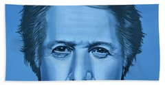 Dustin Hoffman Painting Beach Towel