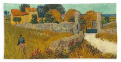 Farmhouse In Provence Beach Towel