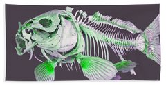 Fish Art Beach Sheet