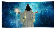 Heavens Door Beach Towel