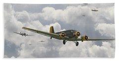 Luftwaffe Ju52  - Stalingrad Beach Towel