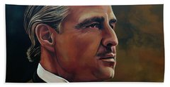Marlon Brando Beach Towel