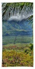 Maui Foot Hills Beach Towel