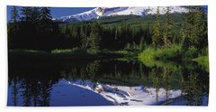 Beach Towel featuring the photograph  Mount Hood Oregon  by Paul Fearn
