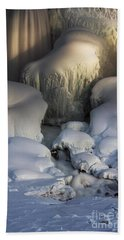 Niagara Falls Frozen Beach Towel