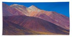 Painted Atacama Beach Towel