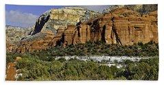 Red Rock-secret Mountain Wilderness Beach Sheet
