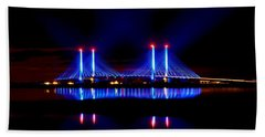 Reflecting Bridge - Indian River Inlet Bridge Beach Towel