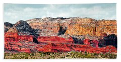 Secret Mountain Wilderness Sedona Arizona Beach Sheet