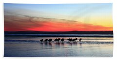 Shorebird Sunset Beach Sheet