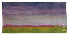 Sunset In Prairie Beach Towel