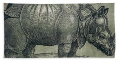 The Rhinoceros Beach Towel