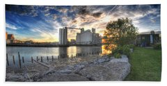 003 General Mills At Sunset Beach Towel by Michael Frank Jr