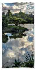 007 Delaware Park Japanese Garden Mirror Lake Series Beach Towel
